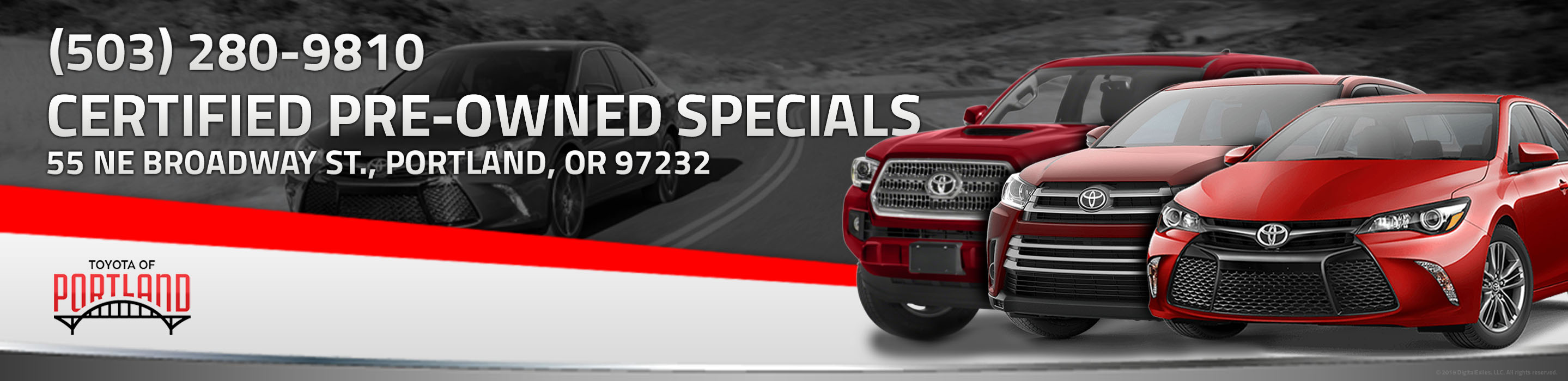Our Lowest Payment Toyota Certified Used Trucks, Cars & SUVs For Sale in Portland, OR